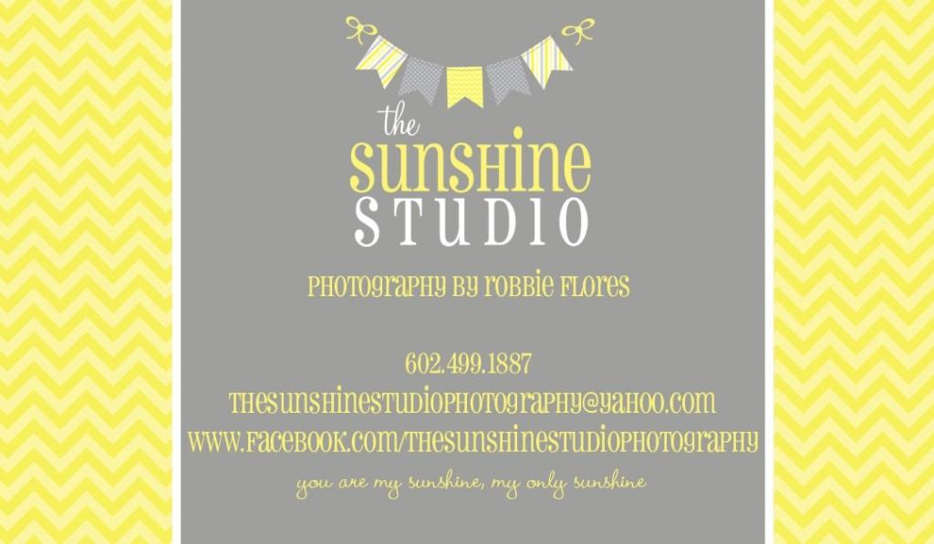 The Sunshine Studio Business Card