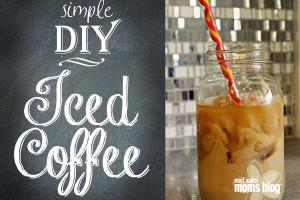 simple DIY iced coffee