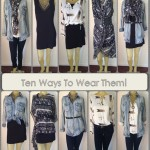What to Wear Wednesday | Five Pieces Ten Ways
