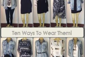 What to Wear Wednesday/ 5 Pieces Worn 10 Ways/Kim Kendall