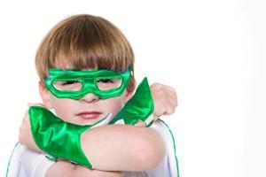 Green-Kids-Superhero-Mask-Powerbands