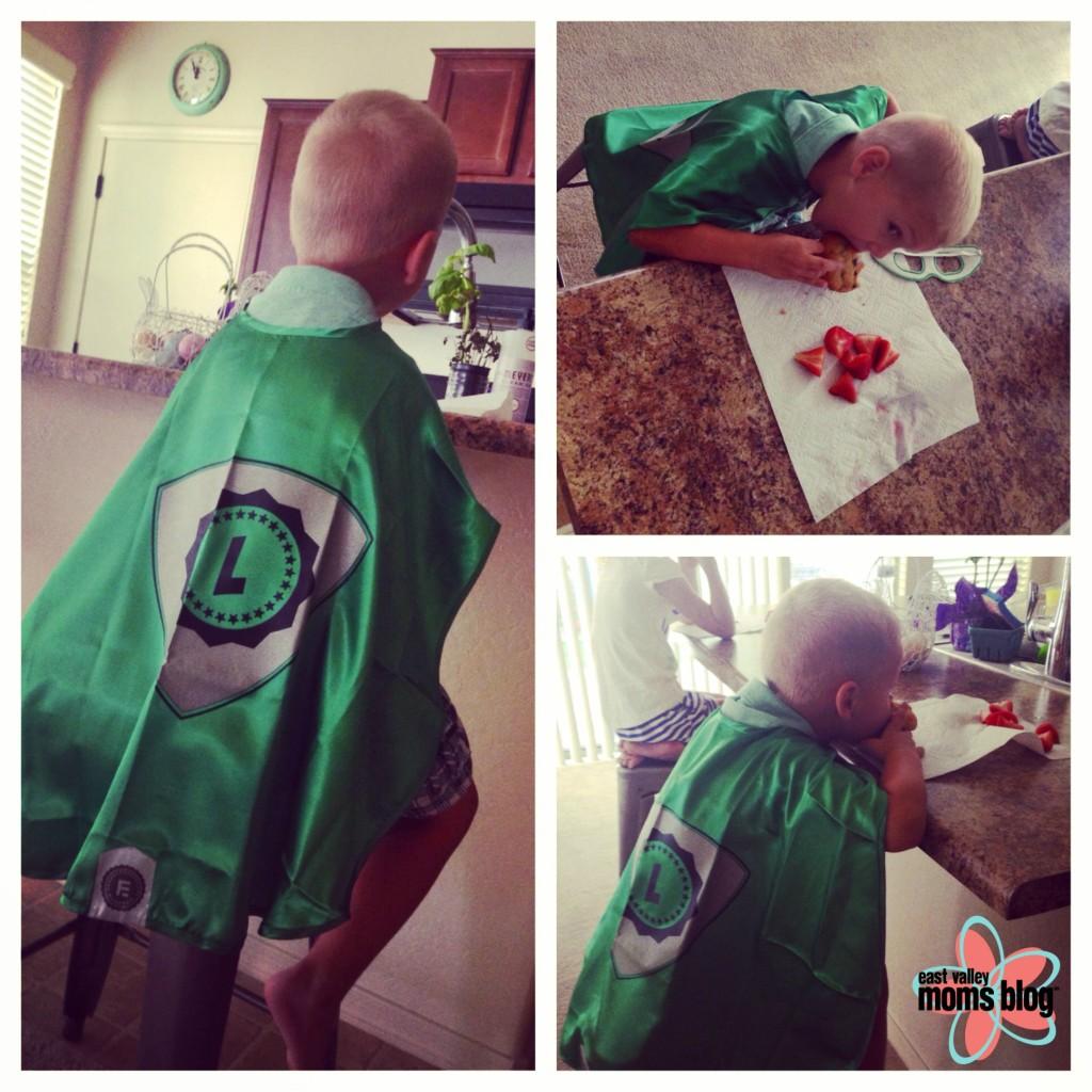 Everfan custom superhero cape **Giveaway** {Closed}