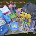 Flying with a Baby & Toddler: Diaper Bag Essentials