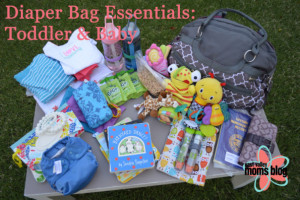 Diaper Bag Essentials for Traveling{Toddler & Baby}