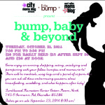 Bump, Babies & Beyond-tickets now on sale!