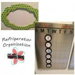 DIY Refrigerator Organization