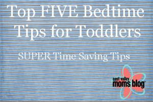 Top 5 Bedtime Tips