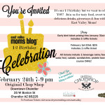 East Valley Moms Blog 1/2 Birthday Celebration-tickets now available!