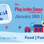 Snow Flurry Fest at Adora Trails by Taylor Morrison on January 24th!