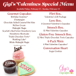 {Giveaway} LOVE box of 4 cupcakes & SMOOCH box of 12 mini cupcakes from Gigi's Cupcakes Chandler (2 winners) **CLOSED