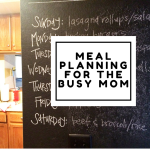 Meal Planning for the Busy Mom