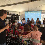 Olympic Moms Hold Q & A panel at Skyline Aquatic Center