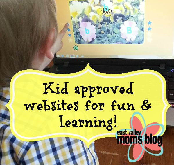 Kid approved websites for fun & learning