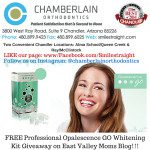 {Giveaway} Professional Opalescence GO teeth whitening kit $100 value from Chamberlain Orthodontics {CLOSED}