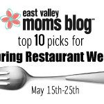 Top 10 picks for Spring Restaurant Week May 15-25th
