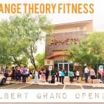 Orange Theory Fitness Gilbert Grand Opening