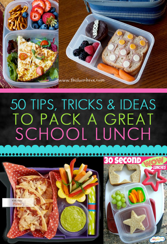 ideas for home-packed lunches