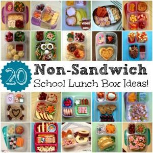 easy non-sandwich school lunch box ideas for kids gluten free nut free allergy friendly