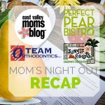 Summer Mom's Night Out Re-CAP: The Perfect Pear Bistro