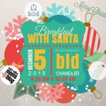 East Valley Moms Blog presents Breakfast with Santa sponsored by Chamberlain Orthodontics on Saturday, December 5th at BLD, Chandler!