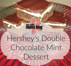 Hershey's Double Chocolate Mint Dessert1