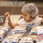 Tis the Season to Give: Volunteers Age 5 & Up