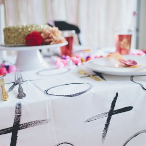 DIY Tablecloth