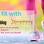Get Fit with Orangetheory Fitness: Saturday, January 23rd at 12:30pm!