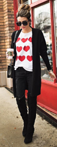 Found on Pinterest: Fashion Forward Valentine's Day Look