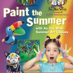A colorful cure for summer boredom at As You Wish!