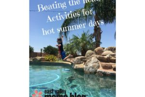 Beating the heat; activities for hot summer days