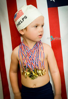 Team USA Michael Phelps costume