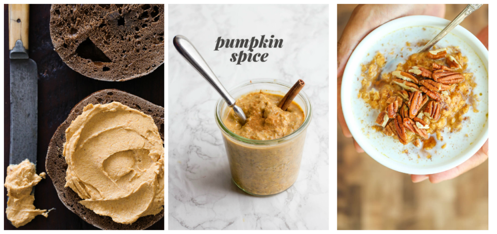 Pumpkin Spice Breakfasts in under 15 minutes