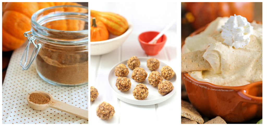 Pumpkin Spice Snacks ready in under 15 minutes