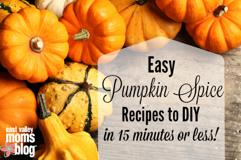 Easy Pumpkin Spice Recipes to DIY in 15 minutes or less