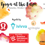 Yoga at the Farm with Lululemon & Ivivva: Saturday, October 1 8am