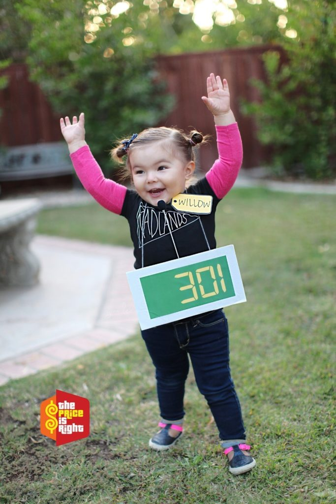 A Contestant on The Price Is Right costume