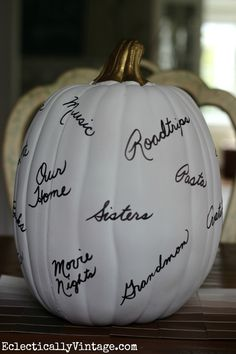 Signature Pumpkin