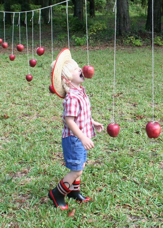 Bobbing for apples alternative
