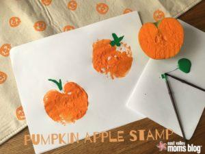 Pumpkin Apple Stamp