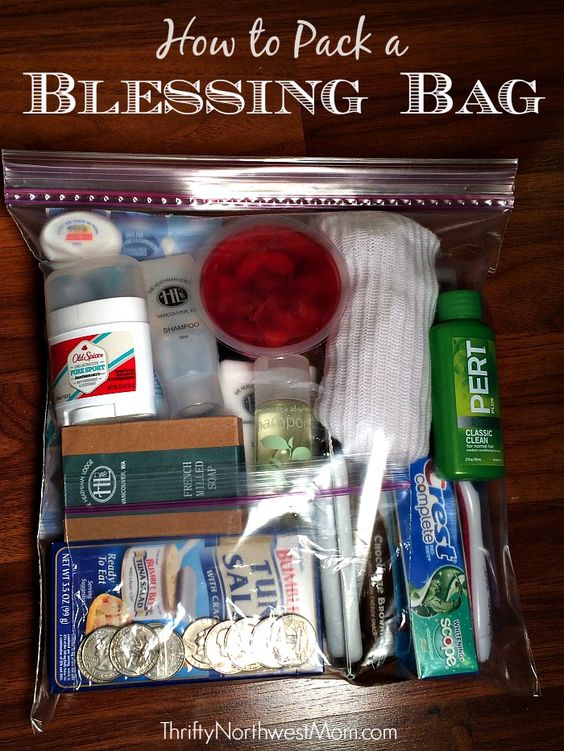 Blessing Bags via Thrifty NW Mom