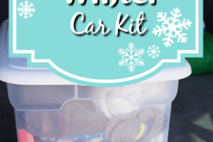 Winter Car Kit - How to put together a car kit with all the essentials for winter fun!