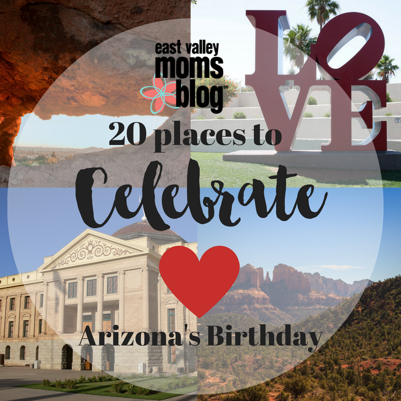 Celebrate Arizona's Birthday with these top places to visit!!