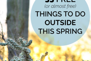 33 free things to do outside this spring