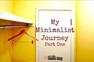 My minimalist journey