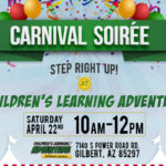 {Free Event Announcement} Carnival Soiree at Children's Learning Adventure-Power Ranch 4.22.17