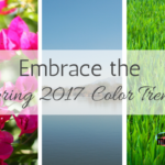 Embrace the 2017 Spring Color Trends