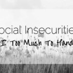 Social Insecurities: Am I too much to handle?