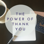 The Power of Thank You