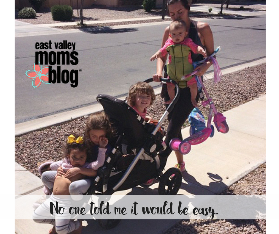 Being in charge of a large family isn't easy.  There are things no one tells you. East Valley Moms Blog